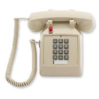 Image of Cetis Scitec 2510D Single-Line Telephone with Message Waiting Light, Double-Gong Bell Ringer, Ash