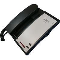Image of Cetis AEGIS-LB-09 90102 Single Line Lobby Telephone, No Dial, Black