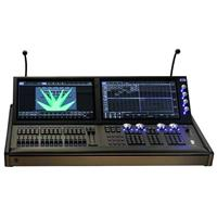 Image of CHAUVET DJ ChamSys MagicQ MQ500 Stadium Dual Touch Screen DMX Lighting Console, 64 Universes with Case