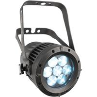 """Image of CHAUVET DJ COLORado1 Quad Zoom Indoor/Outdoor Variable-White Light, Includes Seetronic Powerkon IP65 Power Cord, 7.5"""" Gel Frame Holder, Gel Frame, 5-Pin DMX Connector (2800 to 9010K)"""