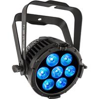Image of CHAUVET Professional COLORdash Par-Hex 7 10W RGBAW+UV LED Wash Fixture with powerCON Power Cord and Gel Frame, 2800 to 10000K Color Temperature