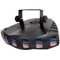 Image of CHAUVET DJ Derby X DMX Effects Light with Power Cord, X Bracket, 8 DMX Channels, 3-pin DMX Connectors, 90 LEDs Light Source