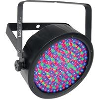 Image of CHAUVET DJ EZpar 64 RGBA Battery-Powered Wash Light with Infrared Remote Control, 3-pin XLR Connector, 4/8 DMX Channels, 180 LEDs, 1325 lux at 2m, Black