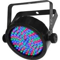 Image of CHAUVET DJ EZpar 56 Wash Light with Power Cord & Infrared Remote Control, 108 LEDs Light Source, 3-pin XLR Connector, 3/7 DMX Channels, 1050 lux Illuminance at 2m