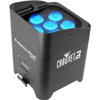 Image of CHAUVET DJ Freedom Par Tri-6 LED Light with Power Cord and IRC6, 3/4/5/9 DMX Channels, 3-pin XLR Connector, 6 LEDs Light Source, 1938 Illuminance at 2m