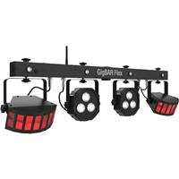 Image of CHAUVET DJ GigBAR Flex 3-in-1 Pack-n-Go Lighting System, Includes IRC-6 Infrared Remote Control and Wireless Footswitch