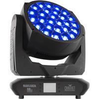 Image of CHAUVET Professional Maverick MK3 Wash Moving Head Fixture, 2800 to 10000K Color Temperature, 27 RGBW LEDs