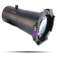 Image of CHAUVET Professional 14deg. Ovation Ellipsoidal HD Lens Tube without Light Engine, Includes Gel Frame, Black
