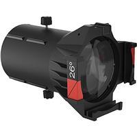 Image of CHAUVET DJ 26deg. Ovation Ellipsoidal HD Lens Tube without Light Engine, Includes Gel Frame, Black