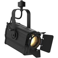Image of CHAUVET Professional Ovation FTD-55WW 36W Warm White LED Fresnel Fixture, Includes Barn Doors and Track Adaptor, 3200K Color Temperature