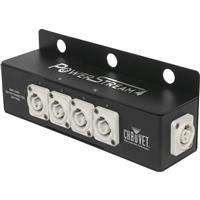 Image of CHAUVET Professional PowerStream 4 Splitter for powerCON Connections