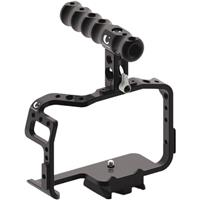 Image of Chrosziel Camera Cage with Handle for Panasonic GH5