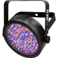 Image of CHAUVET DJ SlimPAR 56 LED PAR Can, 3/7 DMX Channels, 3-pin DMX Connectors, 108 LEDs Light Source, 876lux Iluminance at 2m, Black