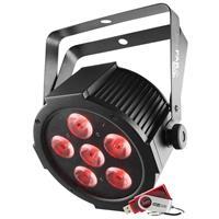 Image of CHAUVET DJ SlimPACK Q6 USB Package - 4 SlimPAR Q6 USB Wash Lights, Cables, and Case