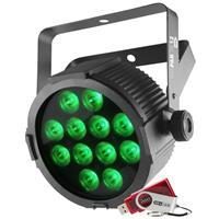 Image of CHAUVET DJ SlimPACK T12 USB Package - 4 SlimPAR T12 USB Wash Lights, Cables, and Case