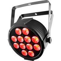 Image of CHAUVET DJ SlimPAR Q12 USB RGBA LED Wash Light, 4 or 9 DMX Channel, XLR 3-Pin DMX Connector, 12x 4W Quad-Color RGBA LED
