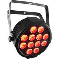 Image of CHAUVET DJ SlimPAR QUV12 USB RGB+UV LED Wash Light, 4 or 9 DMX Channel, 3-Pin XLR DMX Connector, 12 Quad-Color RGB+UV LED