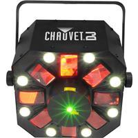 Image of CHAUVET DJ Swarm 5FX 3-in-1 LED Effect Light, 9 DMX Channels, 3-pin XLR DMX Connectors, 5 LEDs Color / 8 LEDs White Light Source, 823 lux Illuminance at 2m