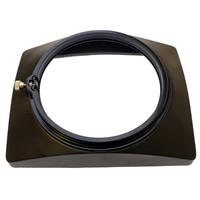 Image of Cavision Lens Hood with 120mm Inside Edge ABS Clamp-on Back-mount for LWA07X86, LW07X86B-EX1, LWA07X86B-HVX200 Lens