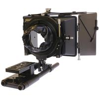 Image of Cavision 4x5.65 Matte Box Package for DSLR/AF100/Black Magic Cameras, Includes MB4512H-2 4x5.65 Hard Shade Matte Box, ARP1210 1200-100mm Step Down Insert Ring