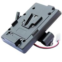 Image of Cavision Battery Mount for Sony V-lock Type Battery with 15/100mm Rods Bracket, Horizontal Configuration