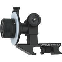 Image of Cavision Mini Single Wheel Follow Focus with Film/Cine Gear for Prosumer & Mini-DV Cameras - Attaches to Standard 15mm Rods - for use with Gear Rings