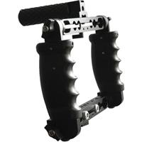 Image of Cavision Triple Handgrip Cage with Dual Rods Brackets, 22 lbs Load Capacity