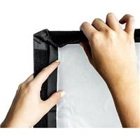 Image of Chimera Small 1/8 Grid Front Screen Diffuser for Quartz LH Lightbank