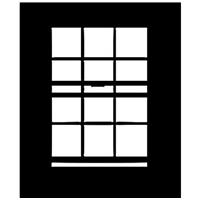 """Image of Chimera Window Pattern for 42x42"""" Compact Frame, Open Window, Requires Holder 5300"""