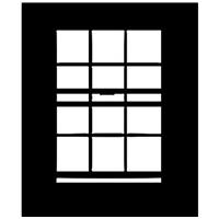 """Image of Chimera Window Pattern for 24x24"""" Micro Frame, Open Window, Requires Holder 5305"""
