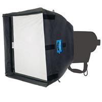 "Image of Chimera Low Heat Daylite Junior LED Lightbanks, 4x Poles, Removable 1/8 Grid Baffle, 1/8 Grid Front Screen, Medium, 36x48"""