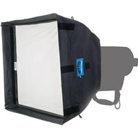 "Image of Chimera Low Heat Quartz LED Lightbanks, 4x Poles, Removable 1/8 Grid Baffle, 1/8 Grid Front Screen, Small, 24x32"""