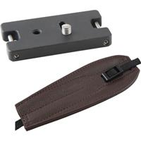 Image of Camdapter Standard Adapter with Chocolate Brown ProStrap, Use a Camera, Tripod, Neck Strap Together