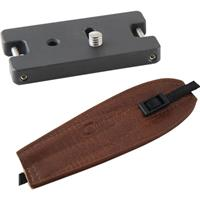 Image of Camdapter Standard Adapter with Medium Brown ProStrap, Use a Camera, Tripod, Neck Strap Together