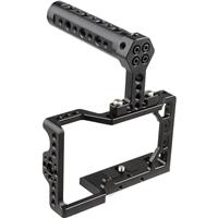 Image of CAMVATE Camera Cage with Top Handle Grip for Sony a6500