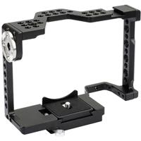 Image of CAMVATE Camera Cage with Quick Release Baseplate for Sony A7II, A7RII, A7SII, A7III, A7RIII, A9