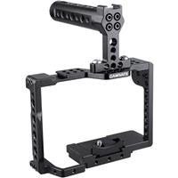 Image of CAMVATE Camera Cage with Quick Release Baseplate and Top Handle for Sony A7II, A7RII, A7SII, A7III, A7RIII, A9