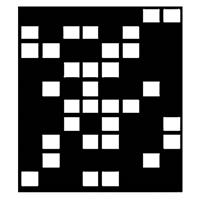 """Image of Chimera Domino Window Pattern for the 42x42"""" Square Compact Panel Frame, Requires Holder 5300"""
