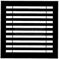 """Image of Chimera Horizontal Blinds Window Pattern for the 42x42"""" Square Compact Panel Frame, Requires Holder 5300"""