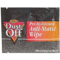 Image of Falcon Pre-moistened Foil Pack of Anti-Static Monitor Wipes - 24 Count