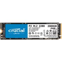 Image of Crucial P2 2TB NVMe PCIe 3.0 x4 M.2 Internal SSD