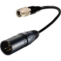 """Image of Cable Techniques 6"""" 4-pin XLR-Male to Hirose Adapter Cable for Battery Bud and Hirose 4"""