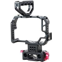 Image of Came-TV Protective HT-GH4 Rig with Cage and Handle for Panasonic GH4 Camera