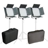 Came-TV High CRI 3X1024+Bag 5600K LED Video Panel Broadcast