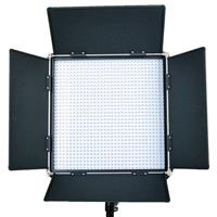 Image of Came-TV L1024DB8 High CRI 1024 Dimmable Studio Broadcast Video Daylight LED Light, Includes 100-240V Worldwide AC Adapter, Soft Diffusion Panel, Tungsten Panel, Carry Bag