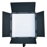 Image of Came-TV L1024SB8 High CRI 1024 Dimmable Studio Broadcast Video Bi-Color LED Light, Includes 100-240V Worldwide AC Adapter, Soft Diffusion Panel, Carry Bag
