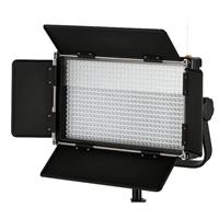 Image of Came-TV 576 Dimmable Bi-Color LED Light with V-Mount Battery Plate, Includes 100-240V Worldwide AC Adapter, Soft Diffusion Panel, Carry Bag