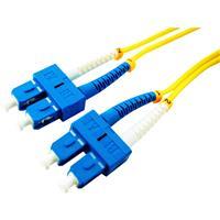 Image of Comprehensive 16.4' SC SM 9/125 Micron Duplex Single Mode Fiber Optic Patch Cable