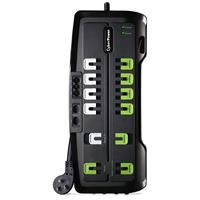 CyberPower Home Theater Surge Suppressor, 4350 Joules, 12 Home Theater Surge Protected Outlets