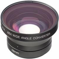 Century Optics .65x Wide Angle Adapter Lens, 58mm Thread for Sony TRV900/PD-100 & Panasonic AGE- Product image - 1725